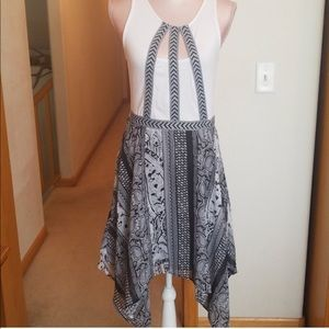 BOGO 50% off! NWOT Venus black and white dress